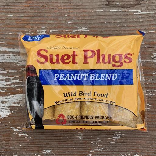 Peanut Blend Suet Plugs by Wildlife Sciences