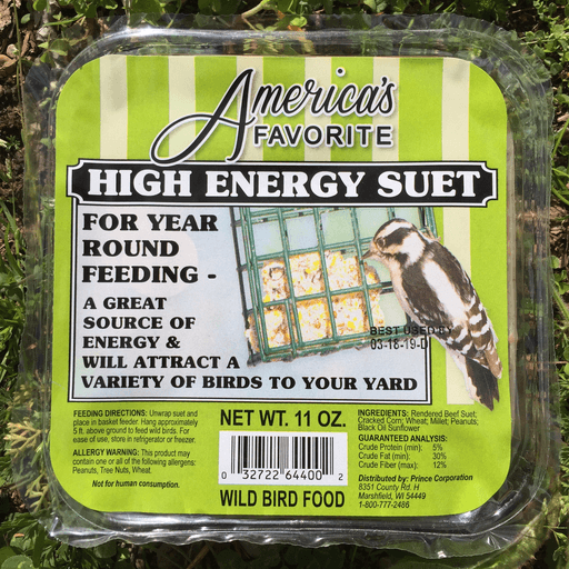 America's Favorite 11oz High Energy Suet Cake