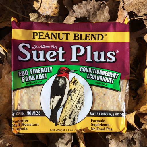 Suet Plus Peanut Blend Suet Cake by Wildlife Sciences