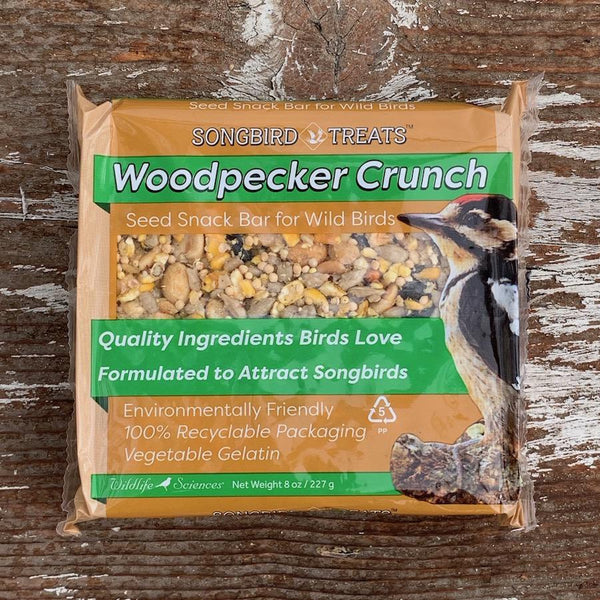 Songbird Treats Woodpecker Crunch  8oz Seed Cake