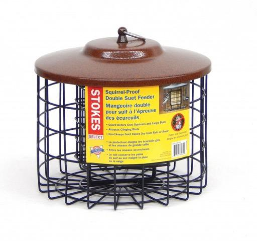 Stokes Select Squirrel Proof Double Suet Feeder