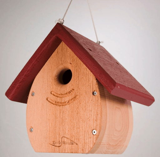 Kettle Moraine Tear Drop Nestbox - Red