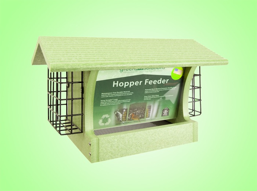 Green Solutions Hopper Feeder w/ 2 Suet Trays