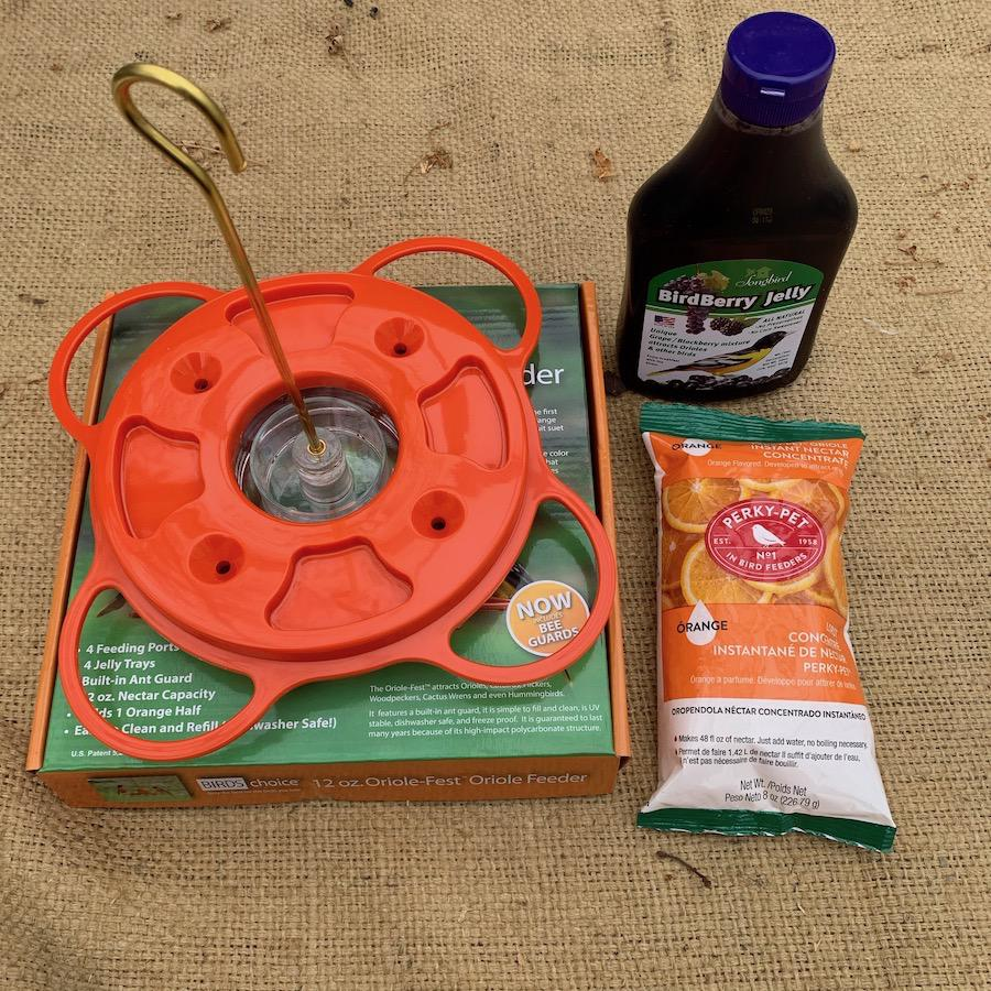 Oriole Feeding Starter Kit