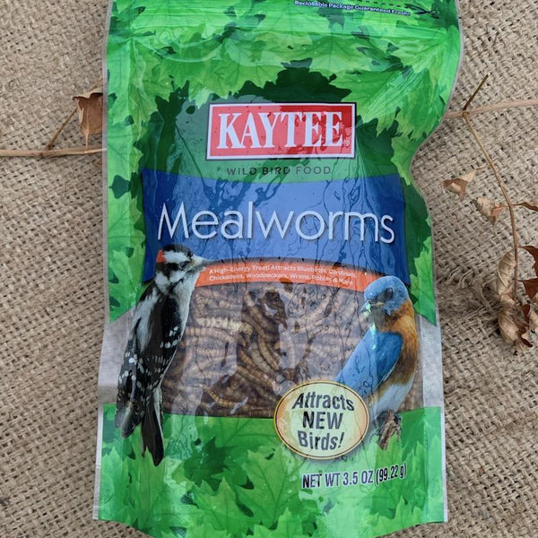 Kaytee 3.5oz Dried Mealworms
