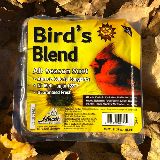 Heath Bird's Blend All Purpose Suet Cake