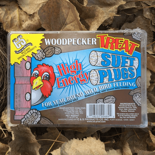 C&S Woodpecker Treat Suet Plugs