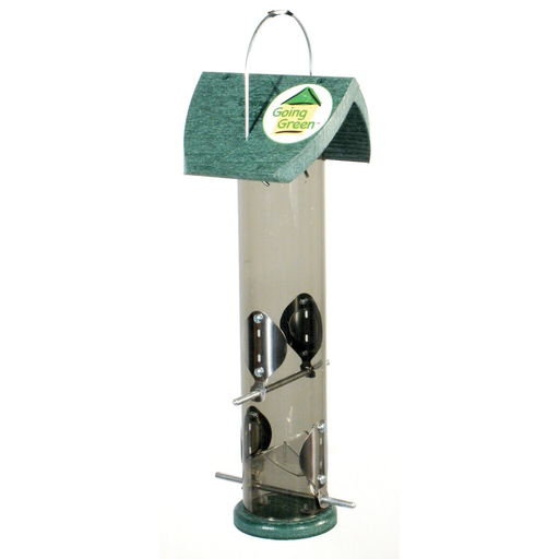 Recycled Plastic Nyjer Tube Feeder by Audubon
