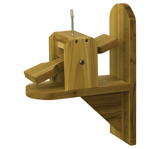 Stovall Products Squirrel See-Saw Cob Feeder