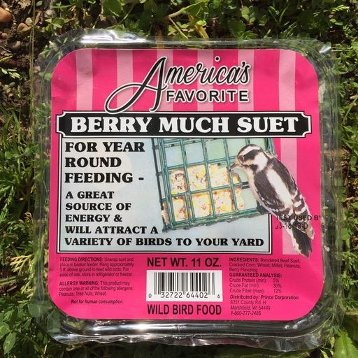 America's Favorite 11oz Berry Much Suet Cake