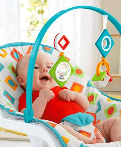 Infant-to-Toddler Rocker with Geo Diamonds from Fisher-Price