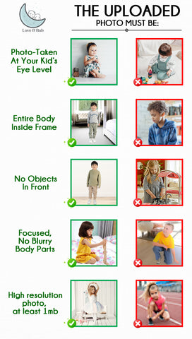 Ideal Photo Guidelines for Children | Love and Bub
