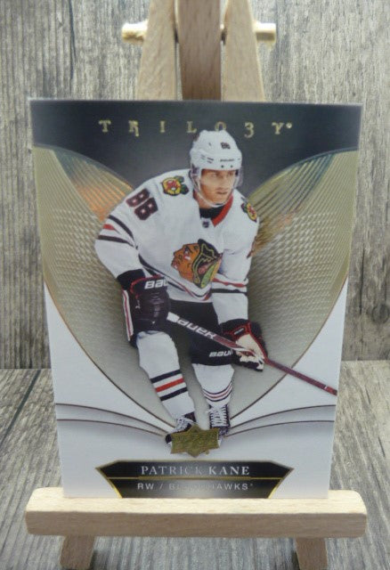 2018-19 Upper Deck Trilogy #3 Patrick Kane -- Single