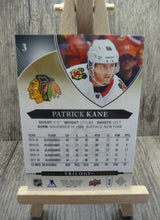Load image into Gallery viewer, 2018-19 Upper Deck Trilogy #3 Patrick Kane -- Single
