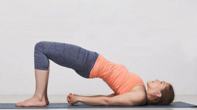 Basic Yoga Pose 4: Bridge Pose