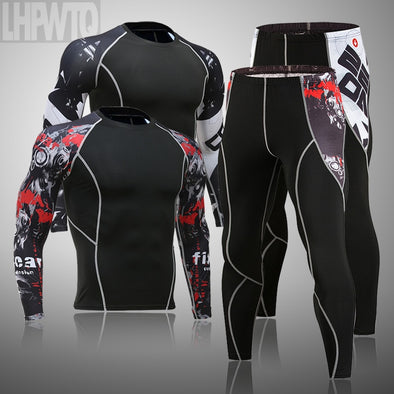 2021 men's thermal underwear set