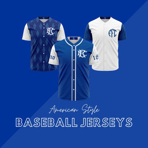 American Style Baseball Jerseys - The Toffees Shop
