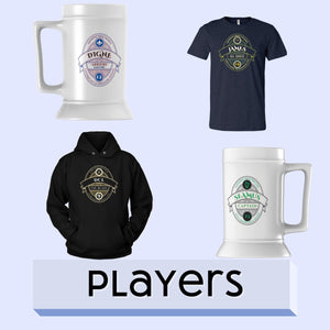Players - The Toffees Shop