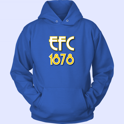 EFC 1878 Art Deco Unisex Hoodie - The Toffees Shop