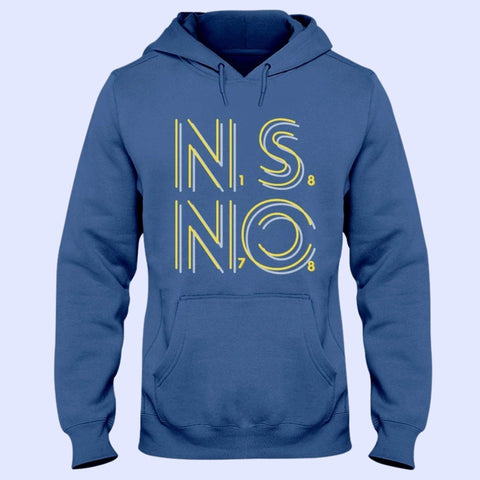 NSNO 1878 Jerzees 50/50 Hoodie Dark Colours - The Toffees Shop