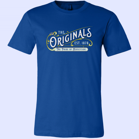 The Originals Pride of Merseyside Canvas Unisex Shirt - The Toffees Shop