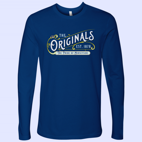 The Originals Pride of Merseyside Next Level Mens Long Sleeve - The Toffees Shop