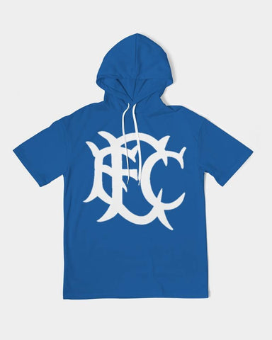 EFC Heritage Royal Blue Men's Premium Heavyweight Short Sleeve Hoodie