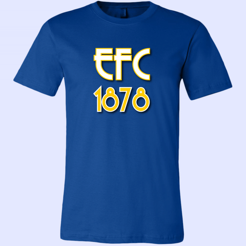 EFC 1878 Art Deco Canvas Unisex Shirt - The Toffees Shop