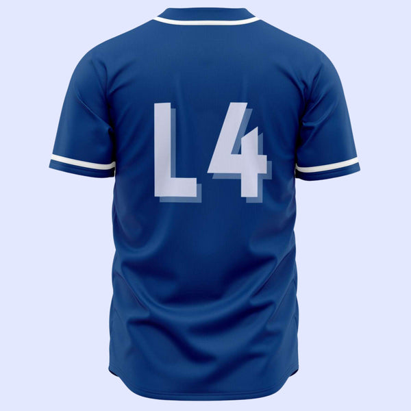 EFC Circle Monogram Baseball Jersey - The Toffees Shop