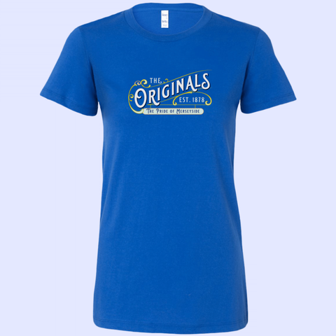 The Originals Pride of Merseyside Bella Womens Shirt - The Toffees Shop