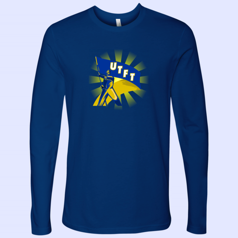 UTFT Partisan Next Level Mens Long Sleeve Tee - The Toffees Shop