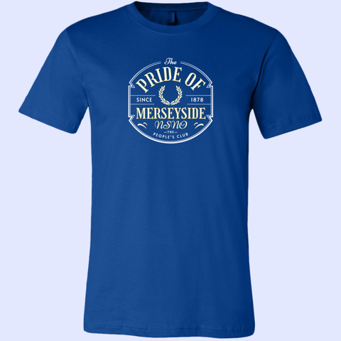 Everton Pride of Merseyside Canvas Unisex Short-Sleeve  Cotton Tee - The Toffees Shop