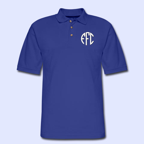 EFC Circle Monogram Men's Pique Polo Shirt