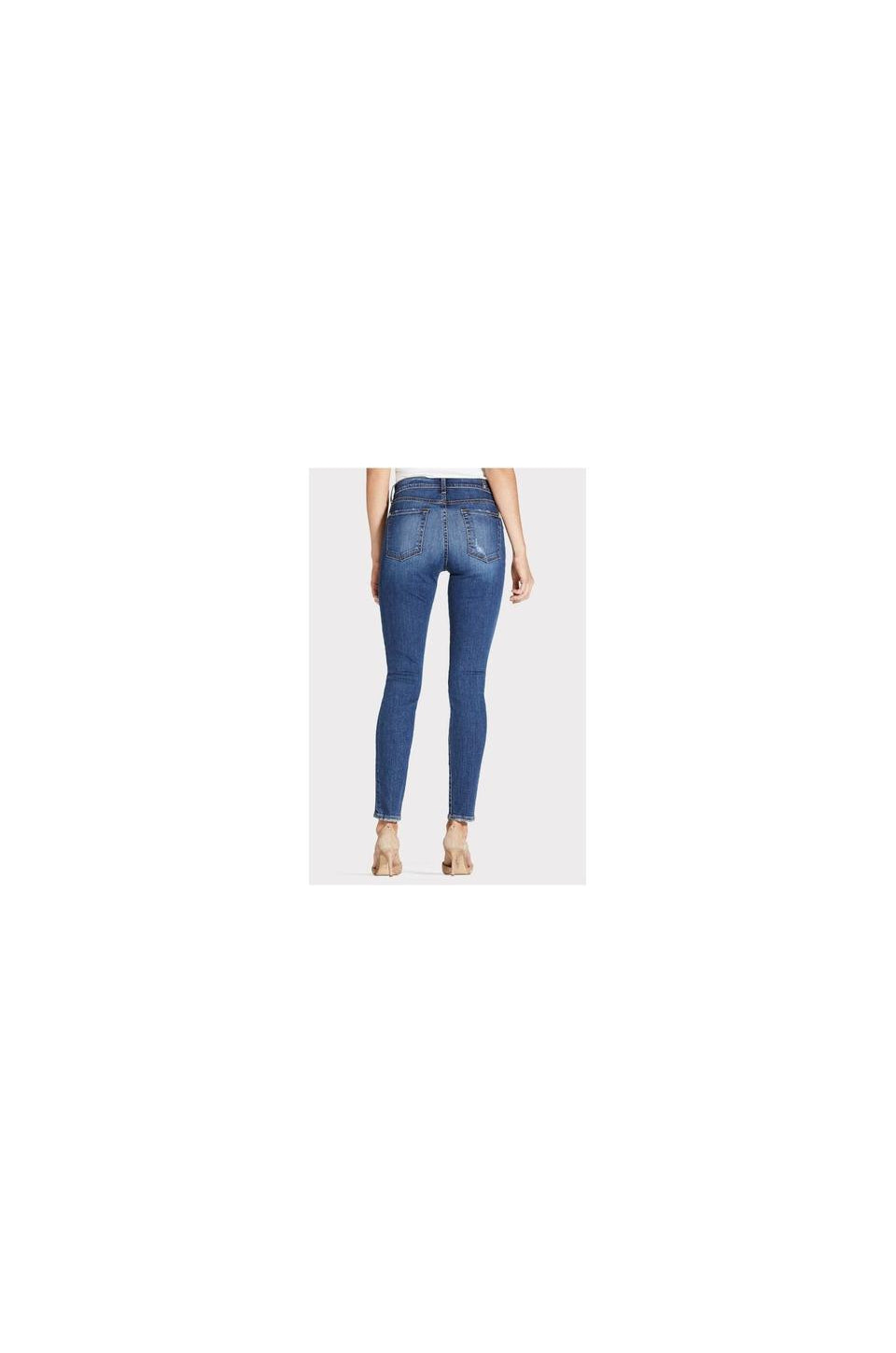 7ForAllMankind Ankle Skinny In Blue Monday