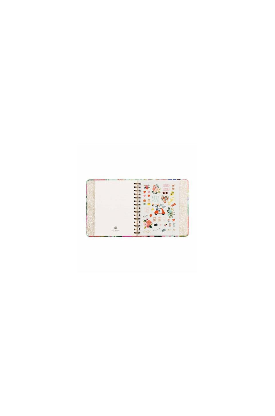 Rifle Paper Co. 2020 Garden Party Classic Covered Spiral 17 Month Planner