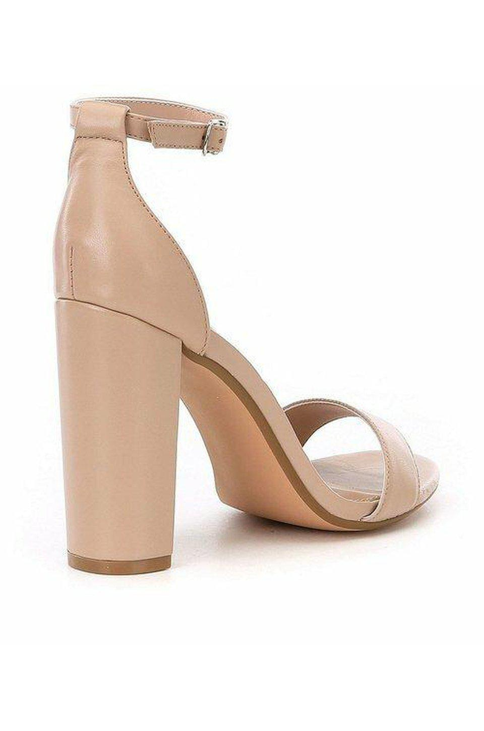 Steve Madden Carrson Heel In Blush Leather