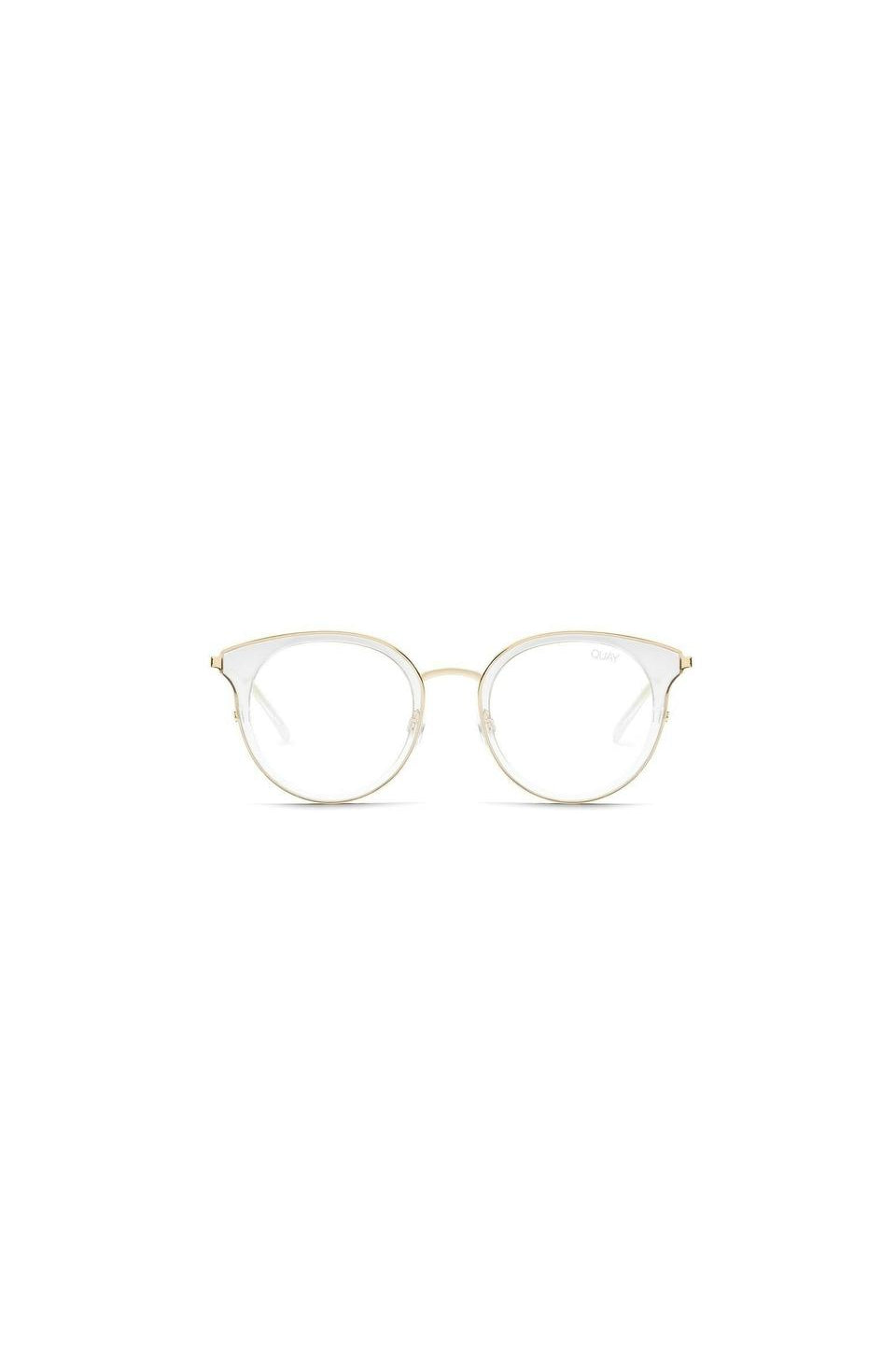 Quay Cryptic Blue Light Glasses In Clear