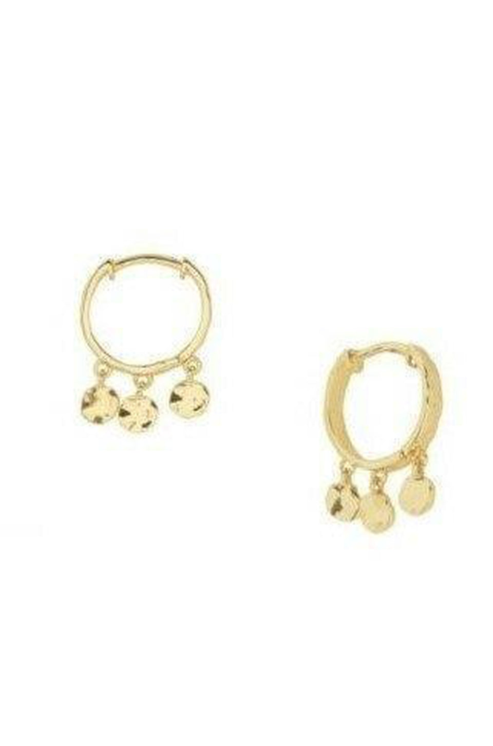 Gorjana Chloe Mini Gold Huggie Earrings