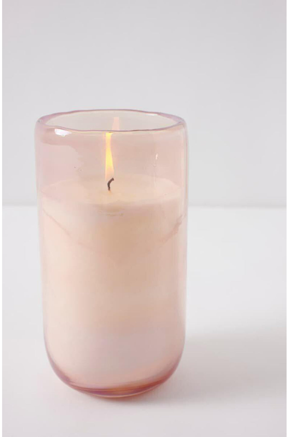 Anthropologie Large Unicorn Pink Candle In Passionfruit Mandarin
