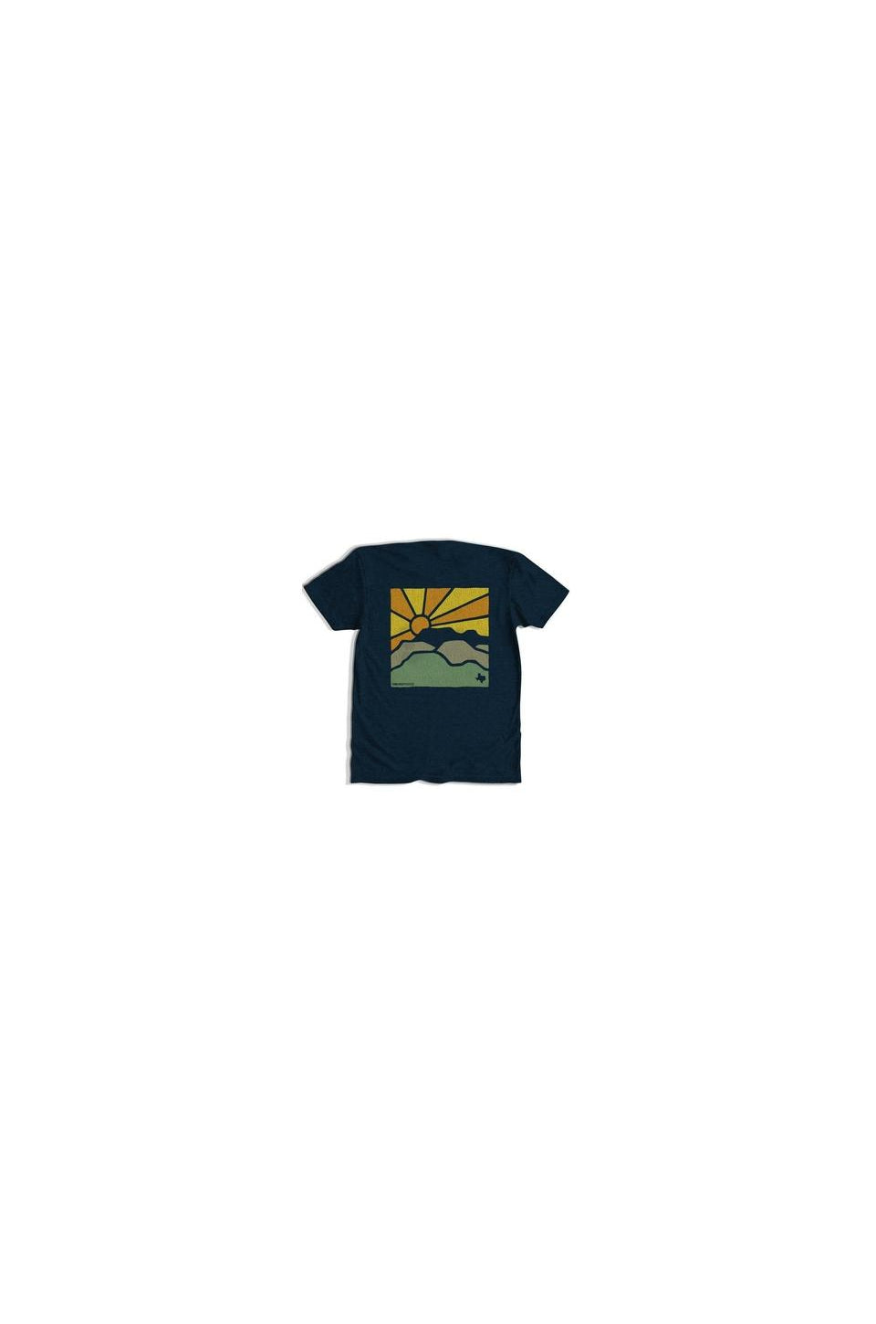 Tumbleweed West Texas Sunset T-Shirt In Navy