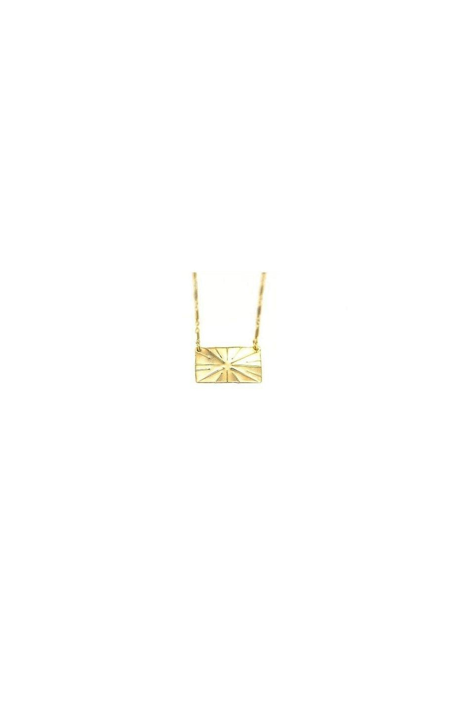 Paradigm Shine Bright Gold Necklace