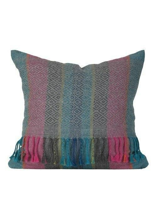 Shupaca Diamond Fireworks Fringe Pillow