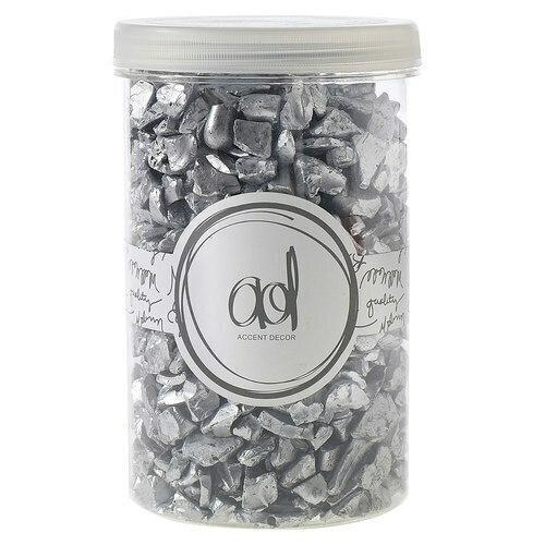 Crushed Silver Glass 4-10MM