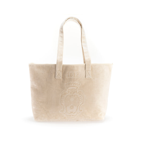 Terry Cloth Beach Bag  officina-smn-usa-ca.myshopify.com Officina Profumo Farmaceutica di Santa Maria Novella - US
