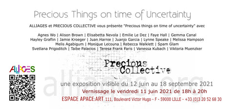 Precious Things in Times of Uncertainty contemporary art jewellery in Lille