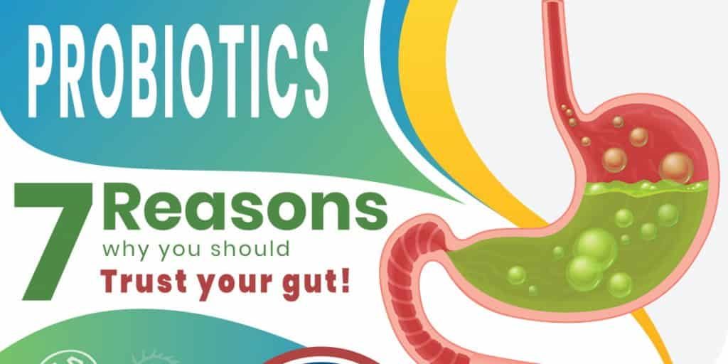 Probiotics – 7 Reasons why you should trust your gut!