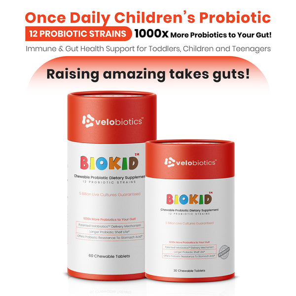 BioKid™ Probiotic Chewable Tablets for Children