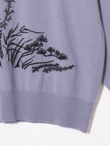 BONSAI Knit (Hand embroidery)
