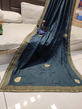 Load image into Gallery viewer, Dola Silk weaving Fancy Saree With Blouse