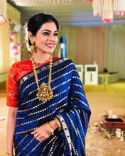 Load image into Gallery viewer, SAREEALL PRESENTS LITCHI SILK SAREES